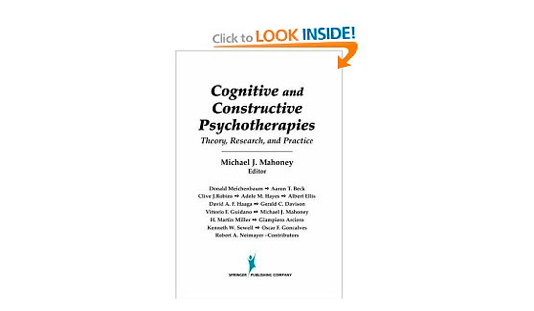 Cognitive and constructive psychotherapies