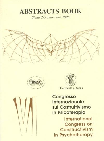 VI Congresso Internazionale sul Costruttivismo in Psicoterapia