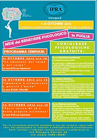 Mese del Benessere in Puglia 2013